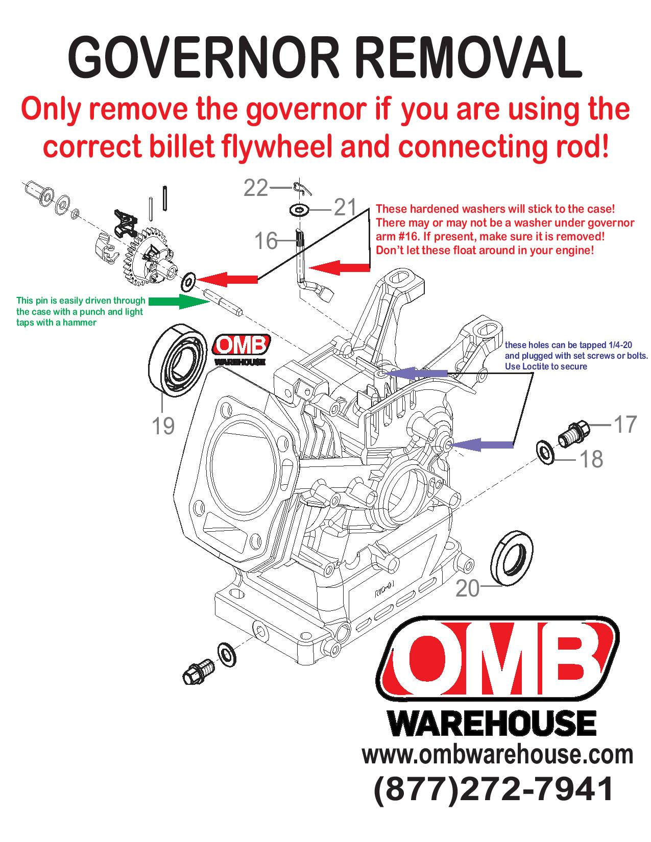 Predator 212cc Governor Removal – OMB Warehouse